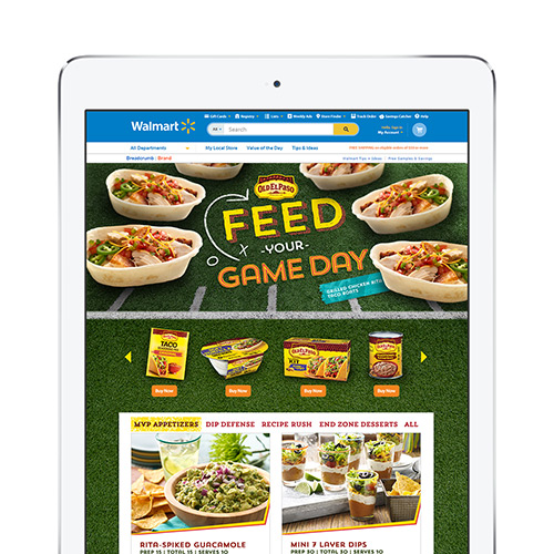Old El Paso Game Day @ Walmart.com
